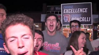 VIDEO: Roncalli High School gets pumped for game against Franklin Central