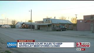 Nebraska Supreme Court rules to keep Whiteclay beer stores closed - Video