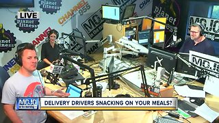 Delivery drivers snacking on your meals?