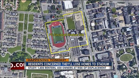 Residents concerned about losing homes to stadium
