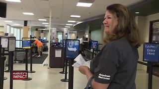 Local Red Cross volunteers aid Harvey relief effort - Video