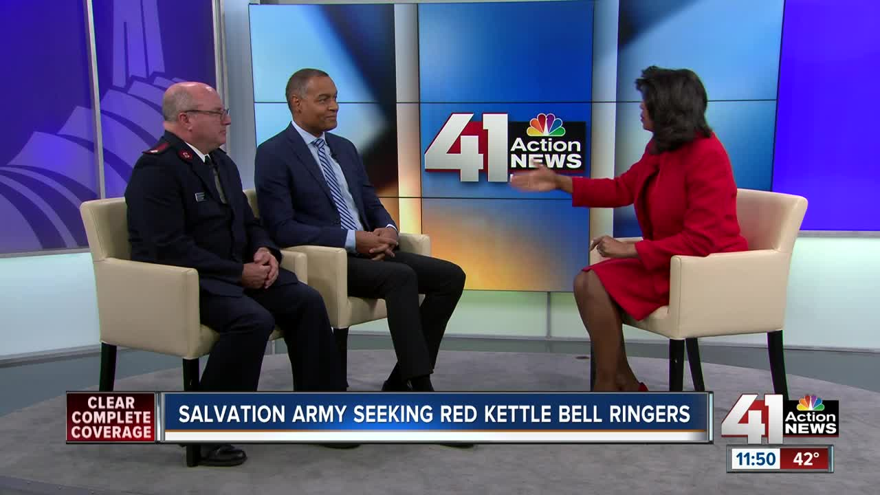 Salvation Army seeking red kettle bell ringers