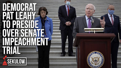 Democrat Pat Leahy to Preside Over Senate Impeachment Trial