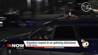 Organizers respond to car gathering disturbance - Video