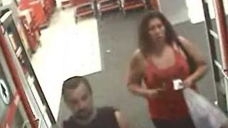 Persons of interest sought in robbery, stabbing outside Las Vegas Target - Video
