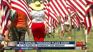 Annual Thousand Flags Event