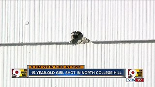 15-year-old girl shot in North College Hill