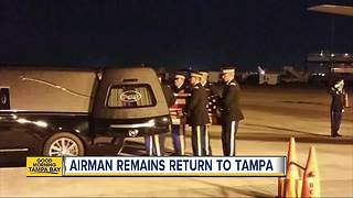 Missing in action for 72 years, WWII airman returns home to Tampa - Video