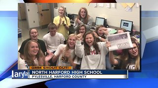 Good morning from North Harford High School! - Video