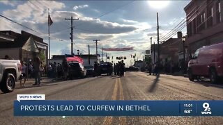 Bethel under curfew following protests, counter-protests