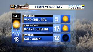 Wind Chill Advisories in effect for Maryland - Video