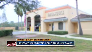 Pasco Co. firefighters could serve New Tampa - Video