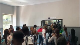 SOUTH AFRICA - Johannesburg - Wits Student Protest - Video (tci)
