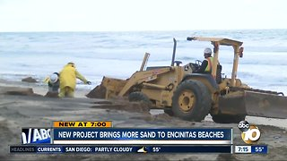 New project brings more sand to Encinitas beach