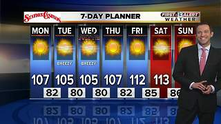 13 First Alert Weather for July 2, 2018 - Video