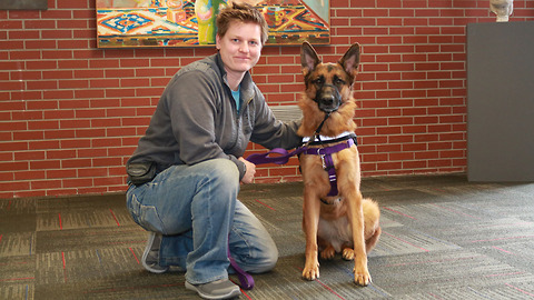 Charity Helps PTSD Veterans Using Dogs' Assistance