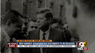 New Kennedy assassination documents released - Video