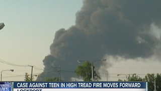 Case moves forward against teenager charged in Lockport fire - Video