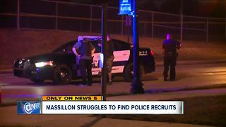 Massillon struggles to find police recruits - Video