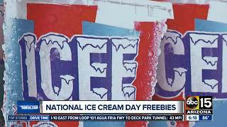 National Ice Cream Day deals around the Valley! - Video