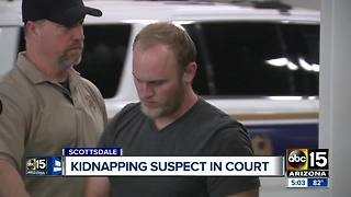 Kidnapping suspect makes court appearance - Video