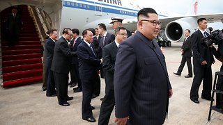 President Trump, Kim Jong-Un Arrive In Singapore For Historic Summit - Video