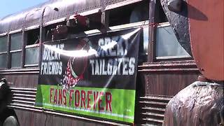 Despite winless season parade attendees say they still believe in the Cleveland Browns - Video