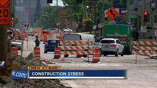 How to cope with summer road construction