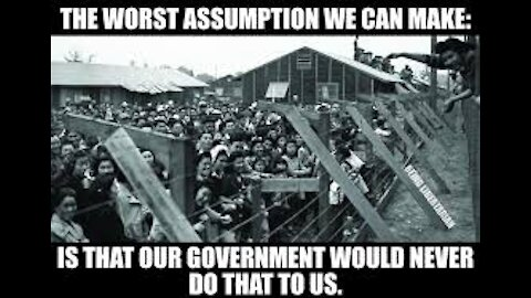 Concentration Camps In Amerika?
