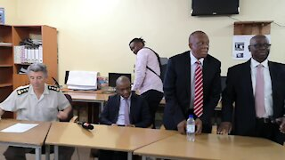 SOUTH AFRICA - Durban - Westville Usethubeni youth school matric English paper (Video) (qqX)