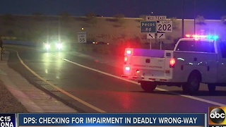 DPS investigating impairment in deadly wrong way crash Tuesday - Video