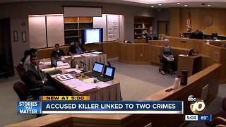 Accused killer linked to two crimes