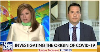 Nunes: Circumstantial evidence points to Wuhan lab as origin of COVID-19