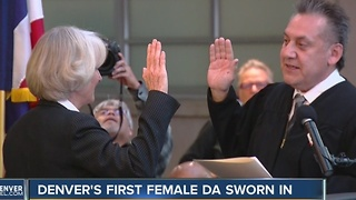 7 things to know about Denver's first female District Attorney Beth McCann - Video