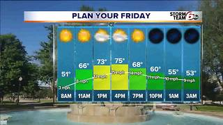 Thursday Afternoon Forecast - Video