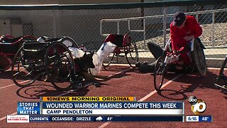 Wounded Warrior Marines compete at Camp Pendleton
