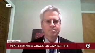 Legal expert on chaos at capitol