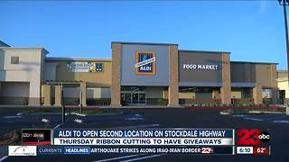 Aldi opening second location on Stockdale Highway - Video