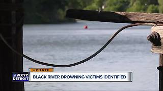 Bodies of 2 men who went missing in Port Huron Black River recovered - Video