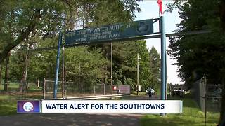 Water alert for Southtowns until Tuesday - Video