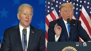 Biden responds to Trump's refusal to concede
