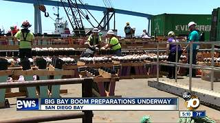 Big Bay Boom preparations underway - Video