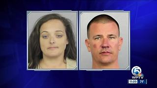 Couple accused of stealing from Stoneman Douglas memorial site - Video