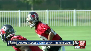 Jameis Winston, Tampa Bay Buccaneers conclude offseason program under new coach Bruce Arians