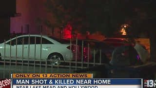 Man dies in northeast Las Vegas shooting - Video