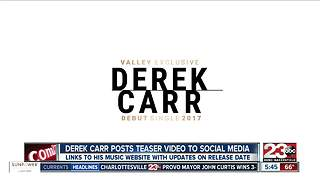 NFL Derek Carr's Fake Music Career - Video