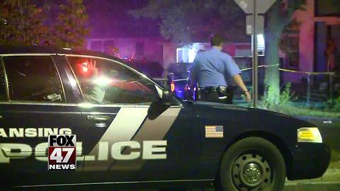 Two women in hospital after overnight shooting in Lansing