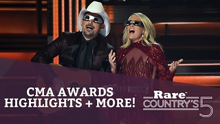 CMA Awards Highlights + More | Rare Country's 5 - Video