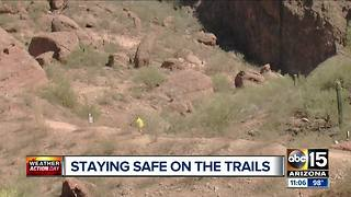 Staying safe while hiking: Phoenix extends hours at some parks - Video