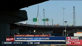 What's Driving You Crazy: I-80/I-29 detours - Video
